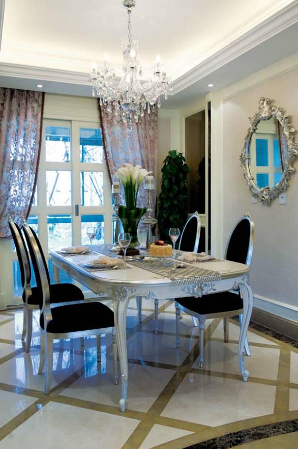 南山美树 190平米 现代欧式 复式 餐厅图片来自cdxblzs在南山美树 190平米 现代欧式 复式的分享