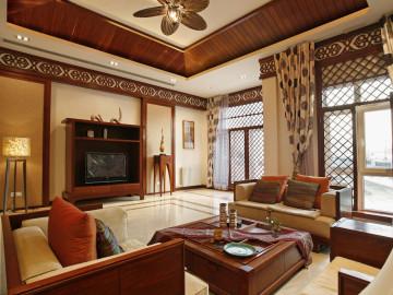 自然清新的东南亚风格