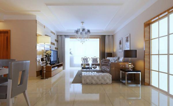 祝福红城 160平四居室 现代风格装修 设计案例 效果图