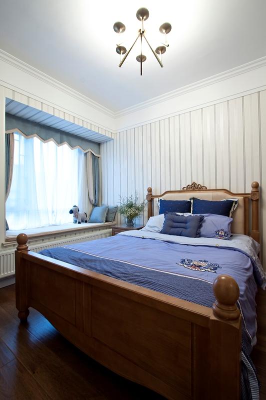 简雅 五居室 百瑞景 简美风 宁静 儿童房图片来自武汉嘉年华装饰在宁静幽居•简雅生活的分享