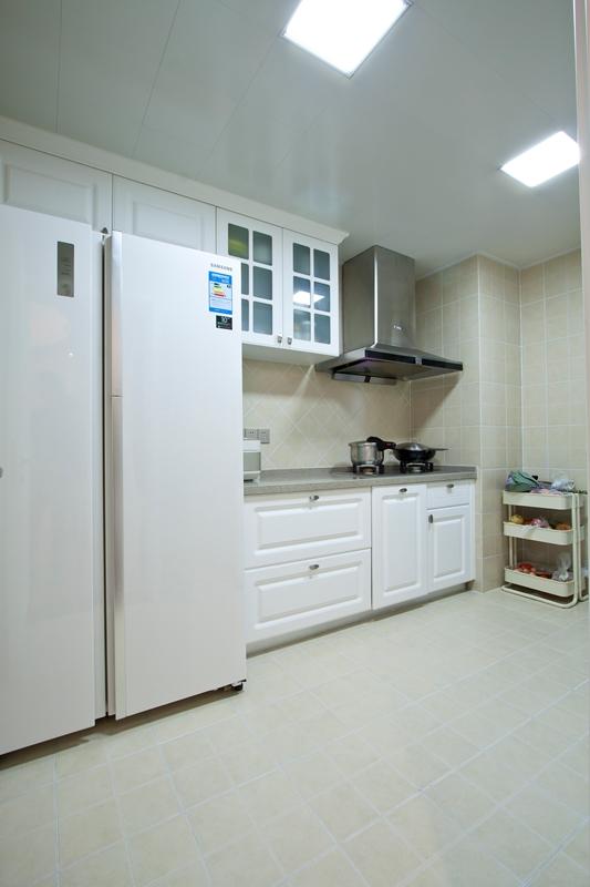 简雅 五居室 百瑞景 简美风 宁静 厨房图片来自武汉嘉年华装饰在宁静幽居•简雅生活的分享