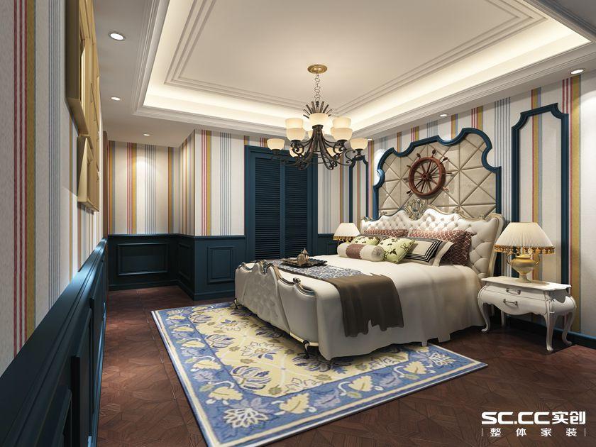 160平米复 复式报价 上海装修 实创装饰 卧室图片来自上海实创-装修设计效果图在上海160平米复式古典风格的分享