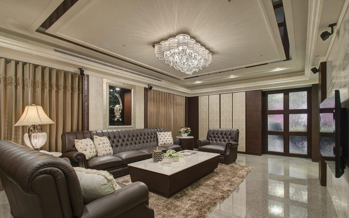 白领 80后 客厅图片来自成都丰立装饰工程公司在内敛沉稳的古典美的分享