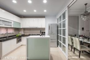 大户型 美式 新古典 收纳 厨房图片来自幸福空间在191平方米归国学子向往的美式宅的分享