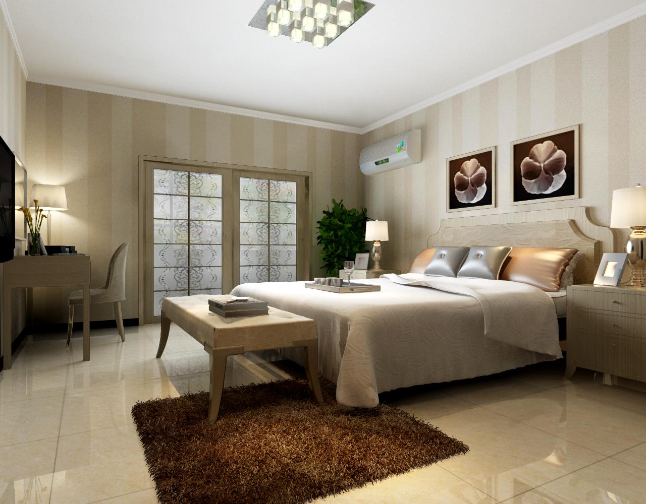 三居 现代时尚装 设计案例 观湖国际 卧室图片来自张樂在中建观湖国际 三居 现代时尚装修的分享
