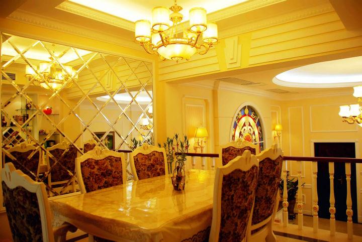 餐厅图片来自cdxblzs在香颂岛 240平米 现代欧式 别墅的分享