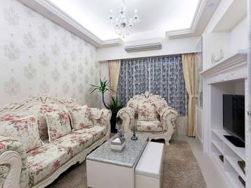 上海88平米欧式田园风格
