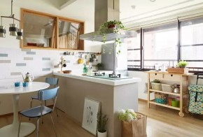 一居 北欧 简约 宜家 旧房改造 80后 客厅 卧室 餐厅 厨房图片来自实创装饰晶晶在50㎡的公寓让女神装成了这样的分享
