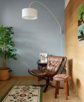 一居 北欧 简约 宜家 旧房改造 80后 客厅 卧室 餐厅 客厅图片来自实创装饰晶晶在50㎡的公寓让女神装成了这样的分享