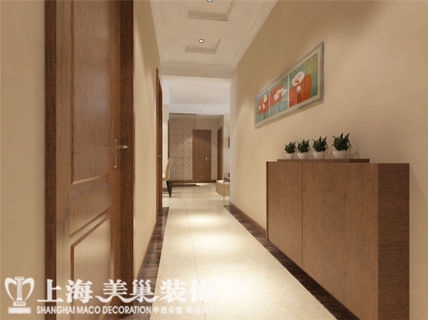 财信圣堤亚纳装修效果图——走廊布局