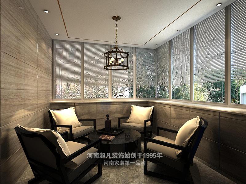 简约 四居室 裕鸿世界港 现代简约 白领 阳台图片来自郑州最好的装修公司-河南超凡在裕鸿世界港160平现代风格效果图的分享