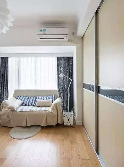 简约 二居 书房图片来自实创装饰上海公司在90㎡简约两居,简直美过样板间!的分享