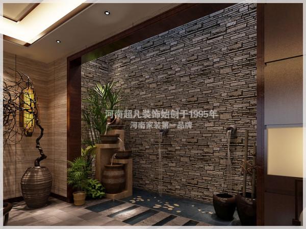 中式风格水景