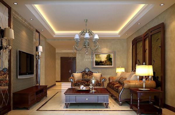 西安曲江观山悦-128平三居室--简欧风格(本小区装修设计36套)
