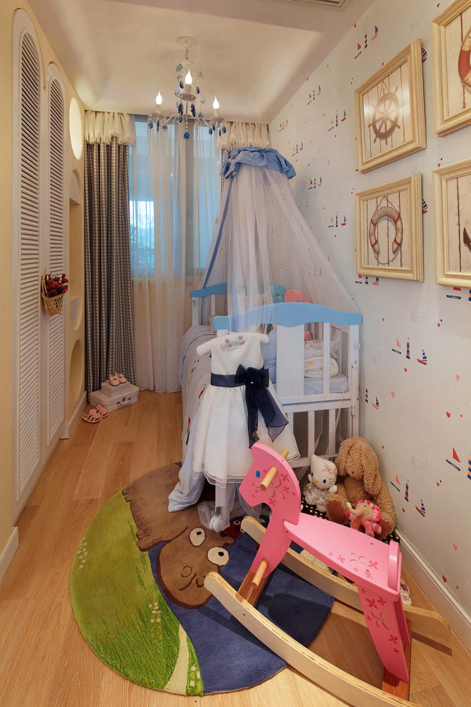 三居 收纳 白领 80后 小资 地中海 泰禾拾景园 儿童房图片来自一道伍禾装饰设计师杨洋在浪漫自然地中海之风的分享
