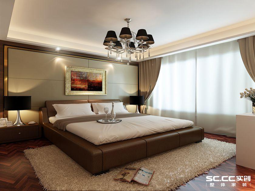 简约 港式 三居 白领 卧室图片来自实创装饰上海公司在盛世宝邸140平港式简约风格的分享