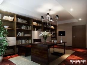 简约 港式 三居 白领 书房图片来自实创装饰上海公司在盛世宝邸140平港式简约风格的分享