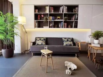 活用黑白灰描绘现代简约二居室