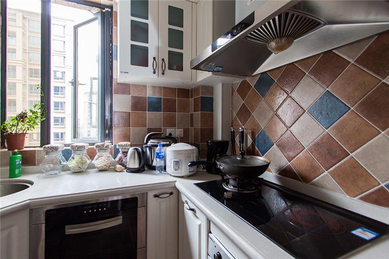 80后 小资 收纳 白领 三居 田园 乡村 厨房图片来自澳华装饰有限公司在复地东湖国际--乡村田园共白头的分享