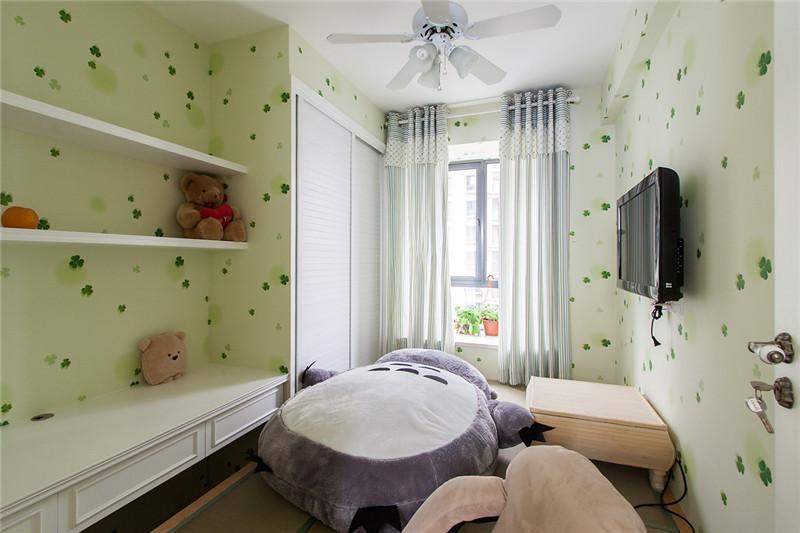 80后 小资 收纳 白领 三居 田园 乡村 卧室图片来自澳华装饰有限公司在复地东湖国际--乡村田园共白头的分享