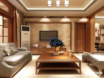 银河丹堤-三居室-新古典风格装修