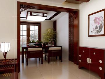 远洋风景新中式风格设计