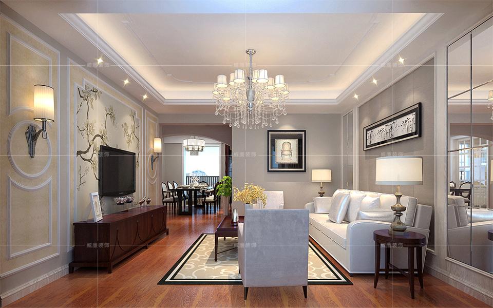 青岛装修 欧式 装修公司 客厅图片来自青岛威廉装饰在星雨华府欧式风格设计的分享