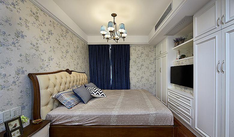 卧室图片来自家装大管家在情迷地中海 98平休闲时尚家的分享