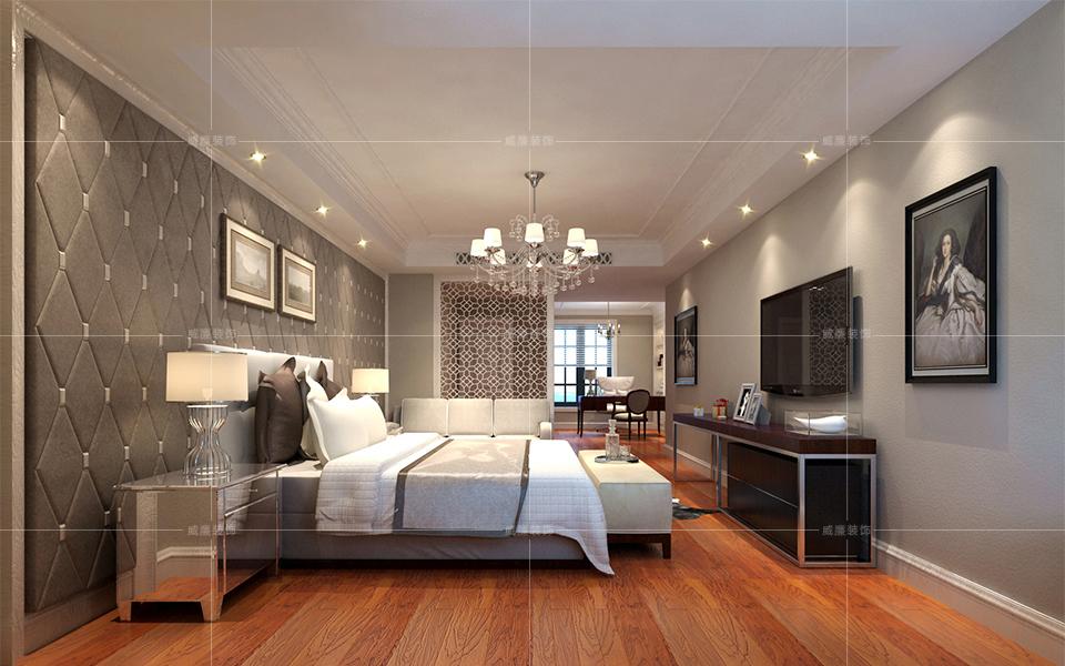 青岛装修 欧式 装修公司 卧室图片来自青岛威廉装饰在星雨华府欧式风格设计的分享