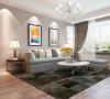 橄榄城伍号院暖暖的三居室装修