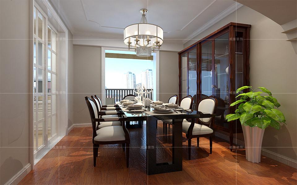 青岛装修 欧式 装修公司 餐厅图片来自青岛威廉装饰在星雨华府欧式风格设计的分享
