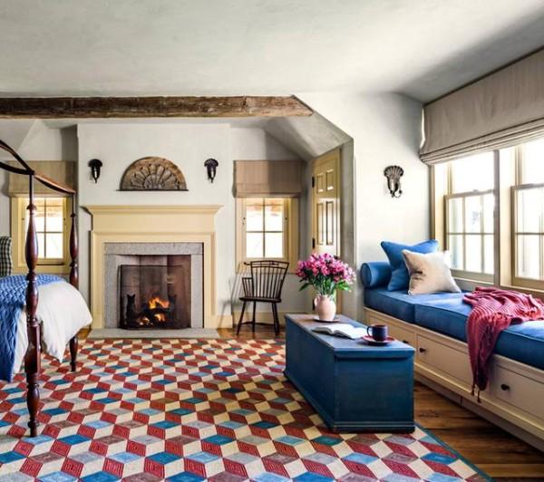 卧室的窗边,可以定制家具,做成飘窗,不仅具有很好的视野,还能增加卧室的收纳功能。
