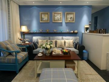浪漫地中海设计,活跃色彩的公寓