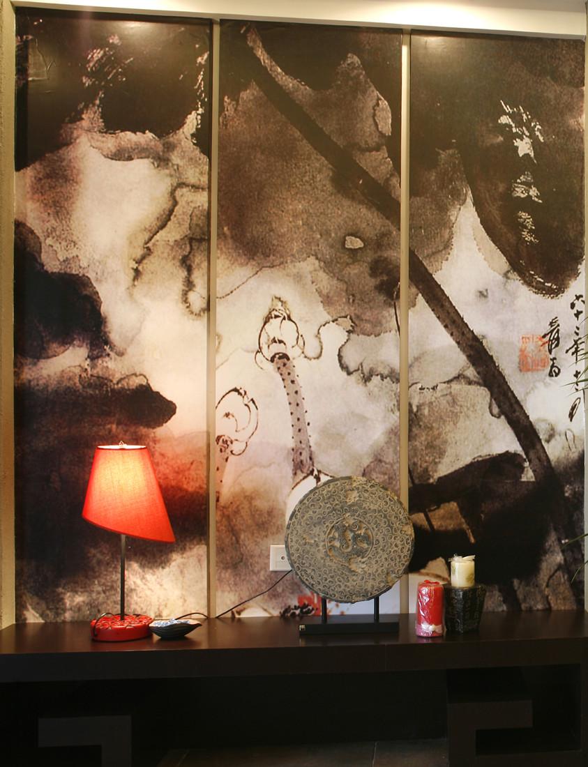 中式 三居 客厅图片来自创新思维装饰官方博客在保利中式风格的分享