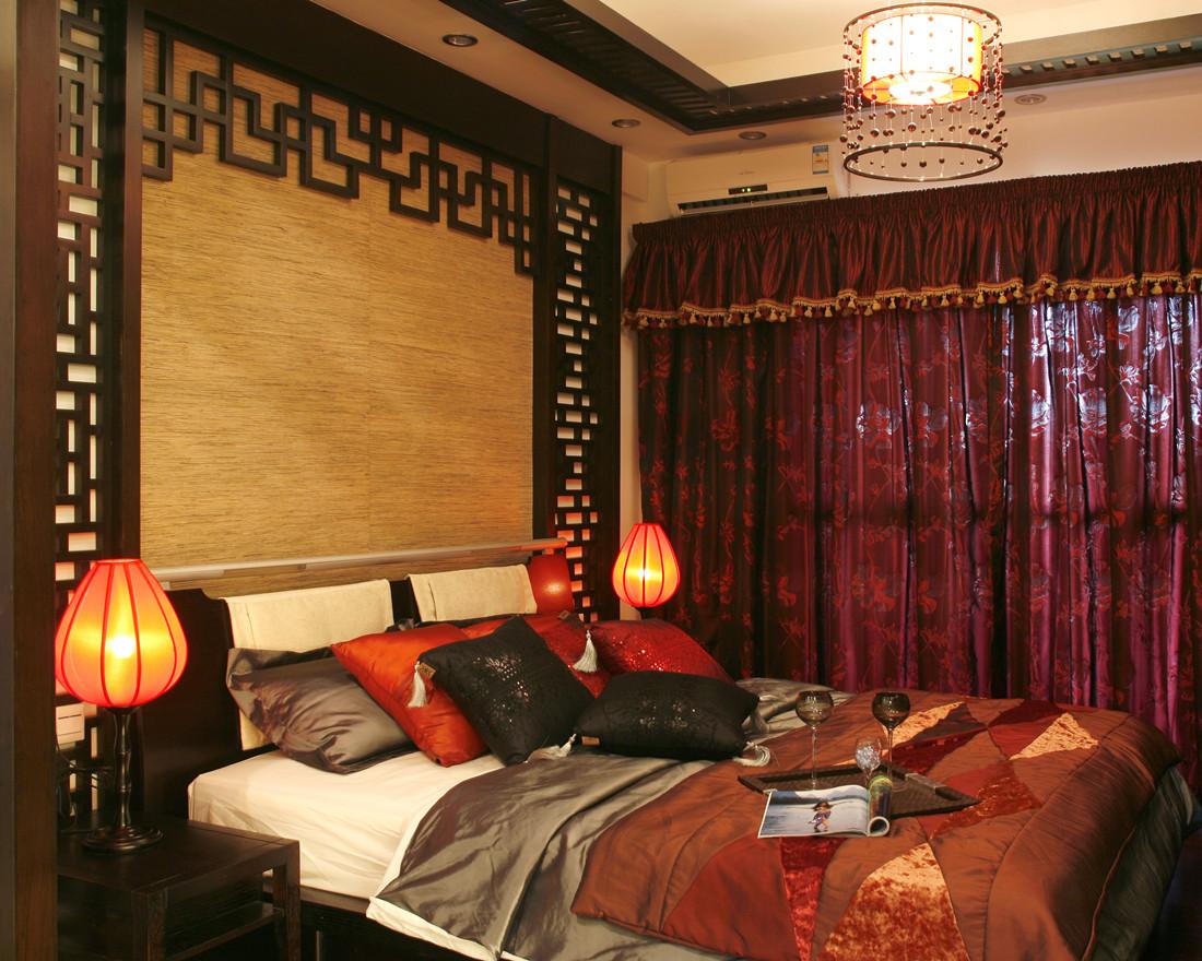 中式 三居 卧室图片来自创新思维装饰官方博客在保利中式风格的分享