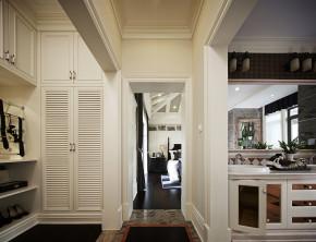 别墅 美式 浪漫 艺术 舒适 衣帽间图片来自天津别墅室内装修在霞光道5号-美式的分享
