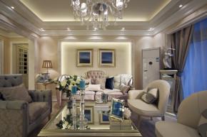 二居 新古典 洛可可 简洁自然 舒适 客厅图片来自天津别墅室内装修在海河大观-法式新古典的分享