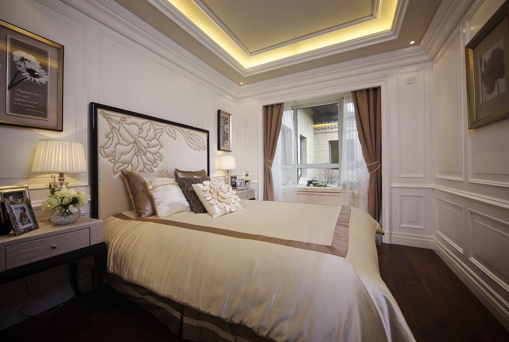 二居 新古典 洛可可 简洁自然 舒适 卧室图片来自天津别墅室内装修在海河大观-法式新古典的分享