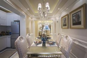 二居 新古典 洛可可 简洁自然 舒适 餐厅图片来自天津别墅室内装修在海河大观-法式新古典的分享