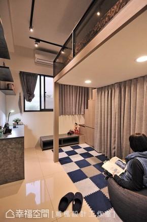 三居 中式 现代 收纳 小资 儿童房图片来自幸福空间在83平客制化现代中式风情的分享