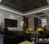 郑州永威五月花城装修样板间效果图——客厅电视背景墙设计