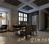 郑州永威五月花城装修效果图鉴赏——餐厅及储物柜设计