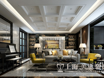 紫荆尚都140平四室现代简约装修