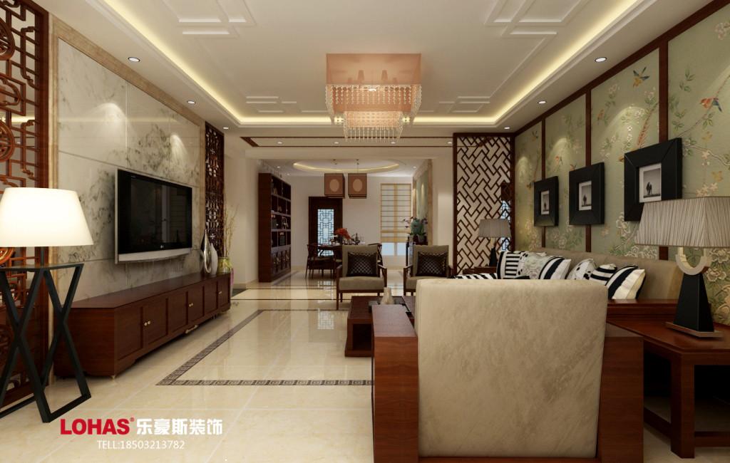 四居 想象国际 乐豪斯装修 启锐园装修 80后 客厅图片来自用户3176938692在想象国际191平四居室装修效果图的分享