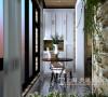 绿地老街110平两室两厅简美风格