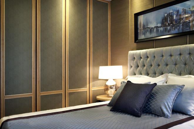 中式风格 客厅装修 中式客厅 卧室装修 洗手间装修 中式卧室装 卧室图片来自上海实创-装修设计效果图在原木设计追求心素如简人如淡菊的分享