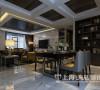 郑州永威五月花城装修效果图赏析现代简约风格设计案例三室两厅127平居室户型设计——客餐厅布局