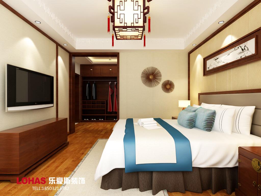 四居 想象国际 乐豪斯装修 启锐园装修 80后 卧室图片来自用户3176938692在想象国际191平四居室装修效果图的分享