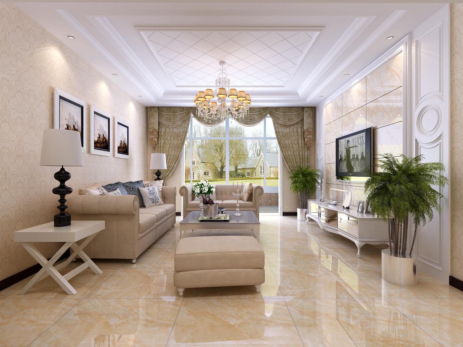 简约 欧式 混搭 三居 白领 小资 80后 客厅图片来自杨会峰在简欧2的分享