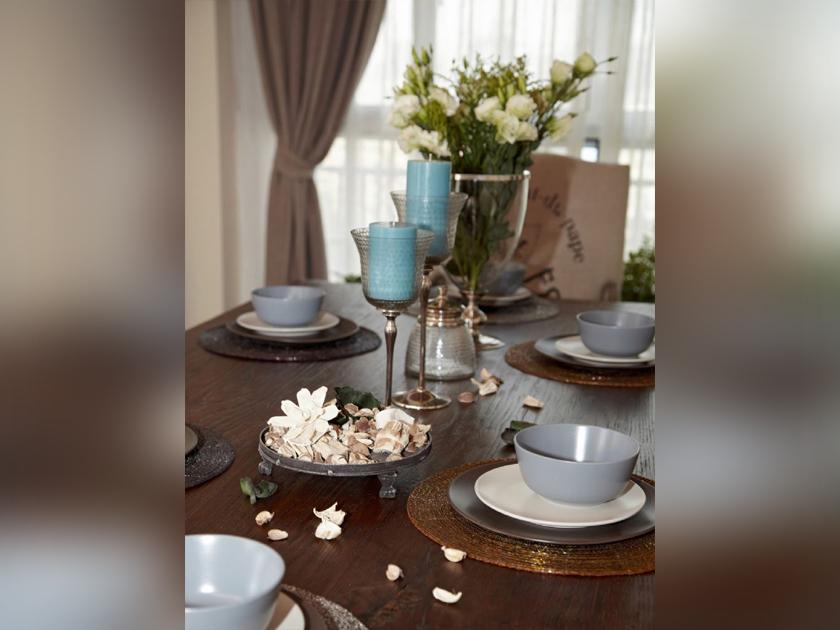 美式 现代 三居 家装 餐厅图片来自南京实创装饰夏雨荷在金域蓝湾150平美式清新的分享